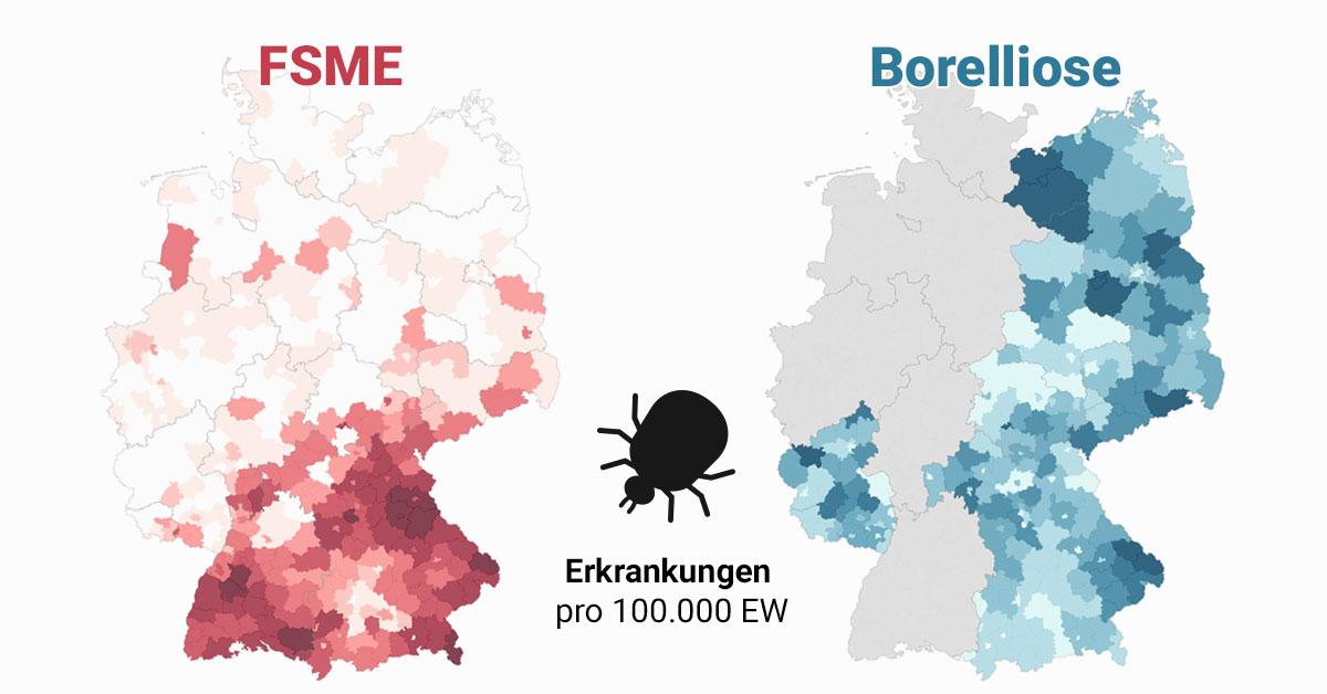 Radioaktivität Deutschland Karte 2020